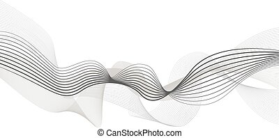 abstract wave element for design  illustration