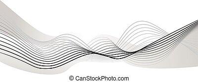abstract wave element for design  illustration