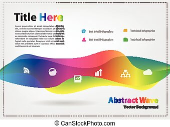 Abstract wave vector background tem