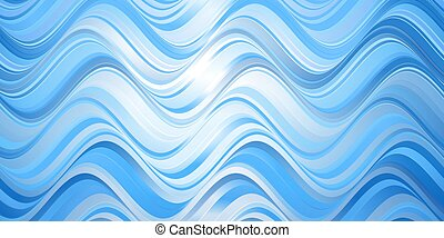 abstract waves banner design 2006