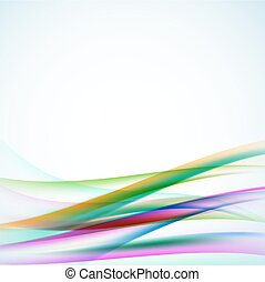 abstract wavy background. vector