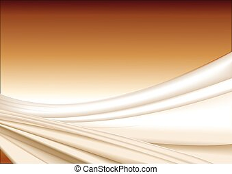 Abstract wavy silk background