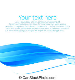 Abstract wavy vector background