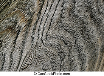 Abstract Weathered Wood #1