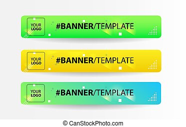 Abstract web banner design background or header template vector eps 10