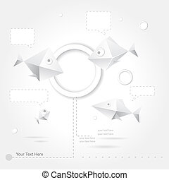 Abstract web design