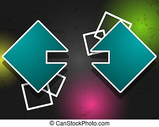 Abstract web element - Vector abstract web element