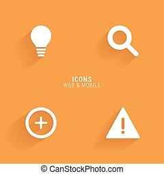 Abstract Web Icons