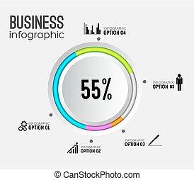 Abstract Web Infographics