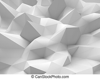 Abstract white 3d background
