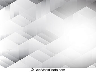 Abstract white and gray color background, vector illustration with copy space for your business