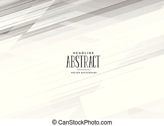 abstract white background with geometric lines