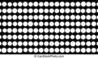 Abstract white circles background. White elements