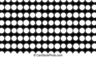 Abstract white circles background. White elements. Seamless...