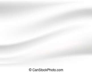 Abstract white cloth vector background