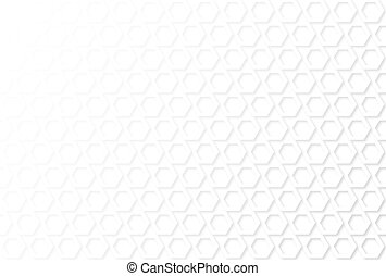 Abstract white geometric pattern background