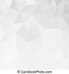 Abstract white geometric triangle background.