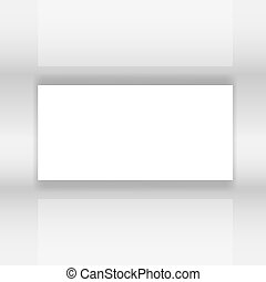 Abstract white Screen vector illustration
