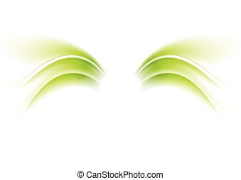 Abstract wings vector waves background