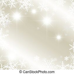 Abstract winter background - Light silver abstract winter...