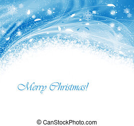 Abstract winter background - Winter background with abstract...