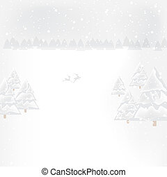 Abstract winter Christmas New Year background