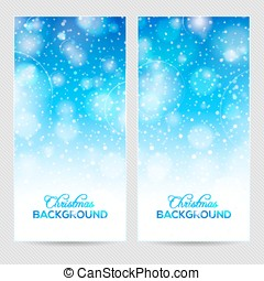 Abstract winter or christmas background
