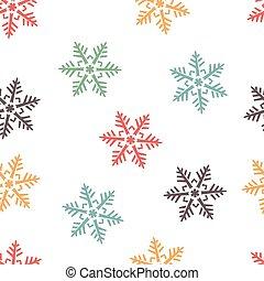 abstract winter seamless backgroun