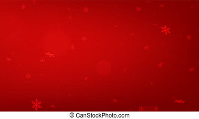 Abstract winter snow background - seamless loop.