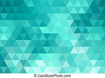abstract, wintertaling, geometrisch, achtergrond