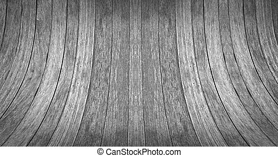 Abstract Wood background in black and white