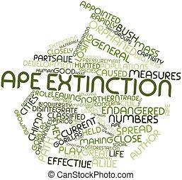 Ape extinction