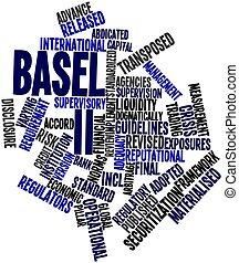 Basel II - Abstract word cloud for Basel II with related ...