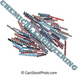 Abstract word cloud for Chemical engineering with related tags and terms