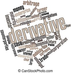 Abstract word cloud for Derivative with related tags and terms