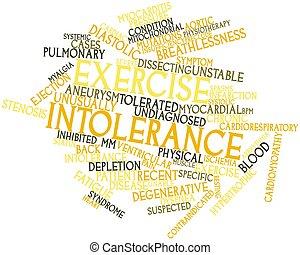 Exercise intolerance