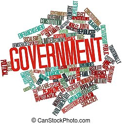 Government - Abstract word cloud for Government with related...