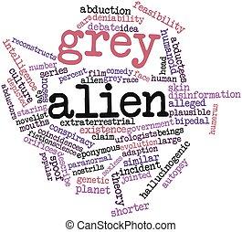 Grey alien