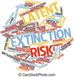Latent extinction risk