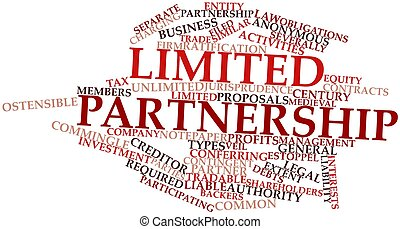 Abstract word cloud for Limited partnership with related tags and terms