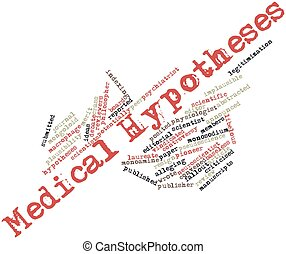 Medical Hypotheses - Abstract word cloud for Medical...