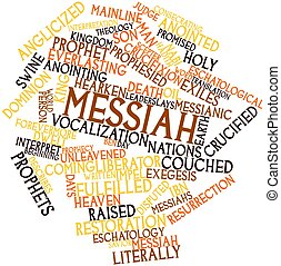 Messiah - Abstract word cloud for Messiah with related tags...