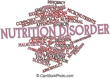 Nutrition disorder - Abstract word cloud for Nutrition ...