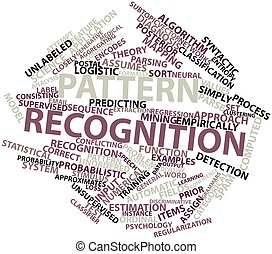 Pattern recognition - Abstract word cloud for Pattern ...