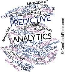 Predictive analytics - Abstract word cloud for Predictive...