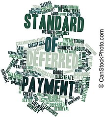 Standard of deferred payment