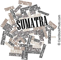 Sumatra - Abstract word cloud for Sumatra with related tags ...