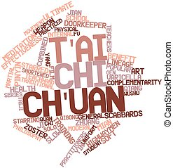 T'ai chi ch'uan - Abstract word cloud for T'ai chi ch'uan...