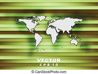 Abstract world map tech background