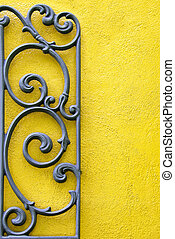 Abstract Wrought Iron - A Decorative Piece of Wrought Iron ...